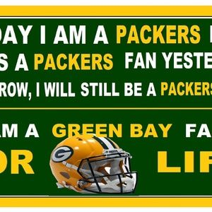 GREEN BAY PACKERS FAN FOREVER POSTER 11…